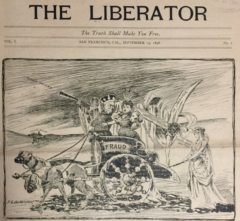 The death of physical mediumship - PN Libera10