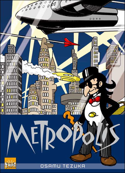 Metropolis - Ozamu Tezuka Metrop10