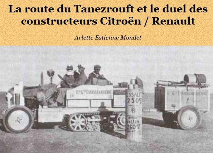 La route du Tanezrouft et le duel des constructeurs Routet10
