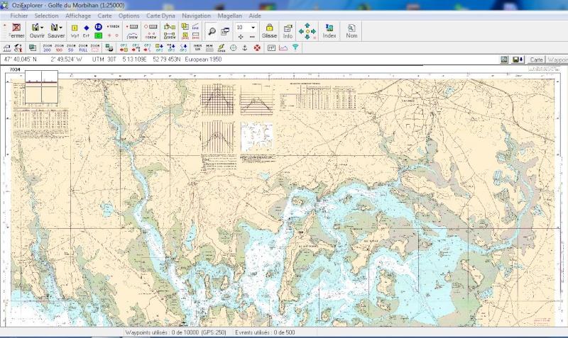 oziexplorer - OziExplorer et ses liaisons cartographiques Captu100