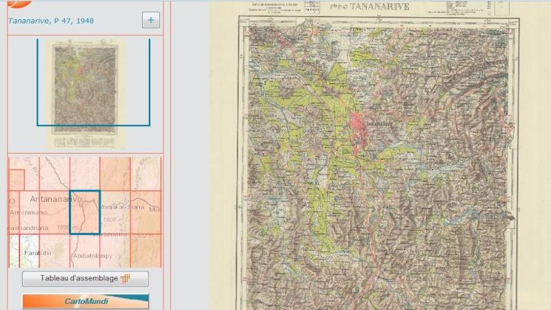Cartes topographiques de CartoMundi : Madagascar Captur55