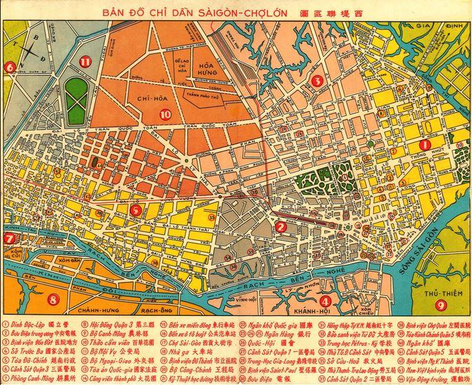 I.A.O - Institut d'Asie Orientale : Cartes et plans de Saïgon - VietNam Captur76