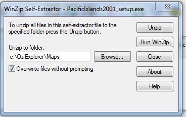 oziexplorer - OziExplorer et ses liaisons cartographiques Captur92