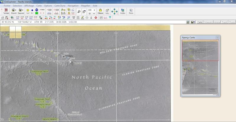 OziExplorer et ses liaisons cartographiques Captur95