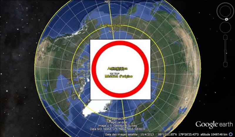 Essai - construction d'un overlay des zones polaires sur GE Cercle10