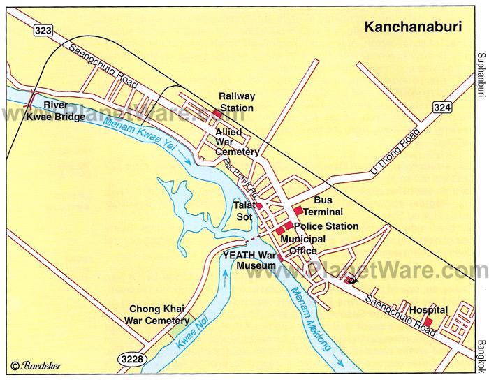 Pont de la rivière Kwaï - Thaïlande Kancha10