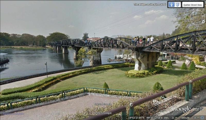 Pont de la rivière Kwaï - Thaïlande Kwai110