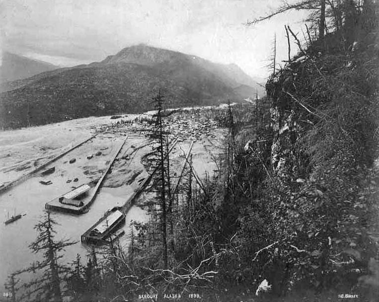 Fièvre de l'Or - Chilkoot Pass - Klondike - Yukon - Alaska - Page 2 Skagwa11