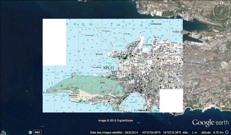 TerraIncognita et Google Earth Split10