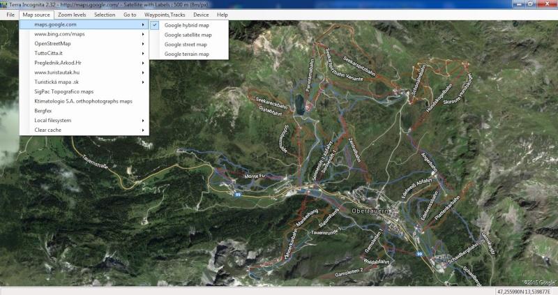 TerraIncognita et Google Earth Terra10