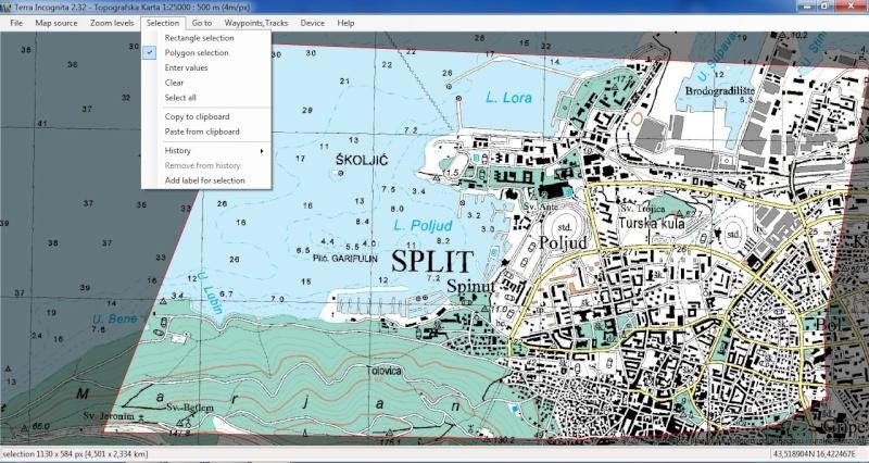 TerraIncognita et Google Earth Terra210