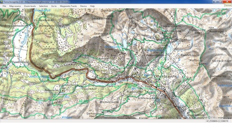 TerraIncognita et Google Earth Terra410