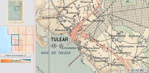 Carte Topographique De Madagascar.Cartes Topographiques De Cartomundi Madagascar
