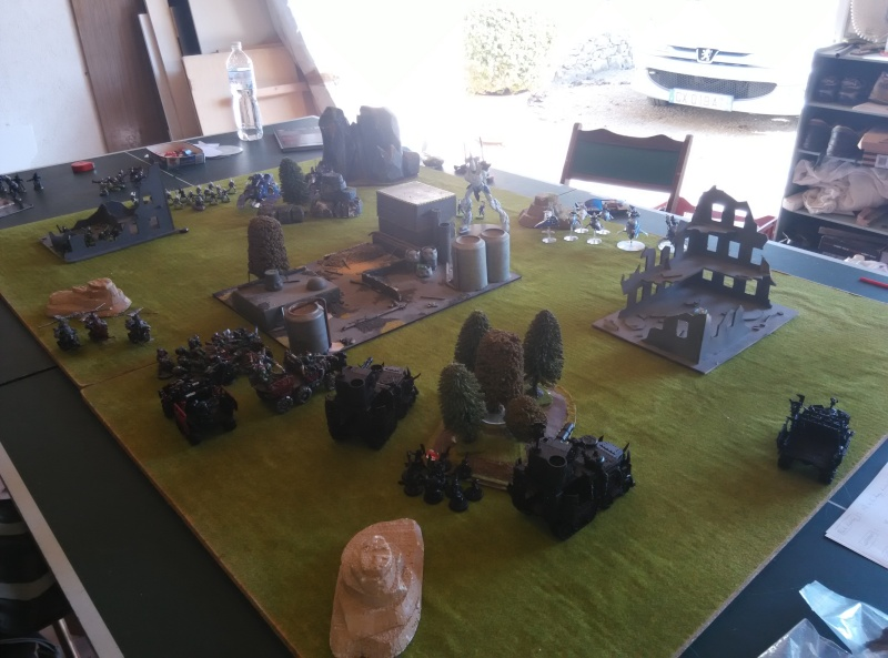 1850 points vs Eldar Pork10