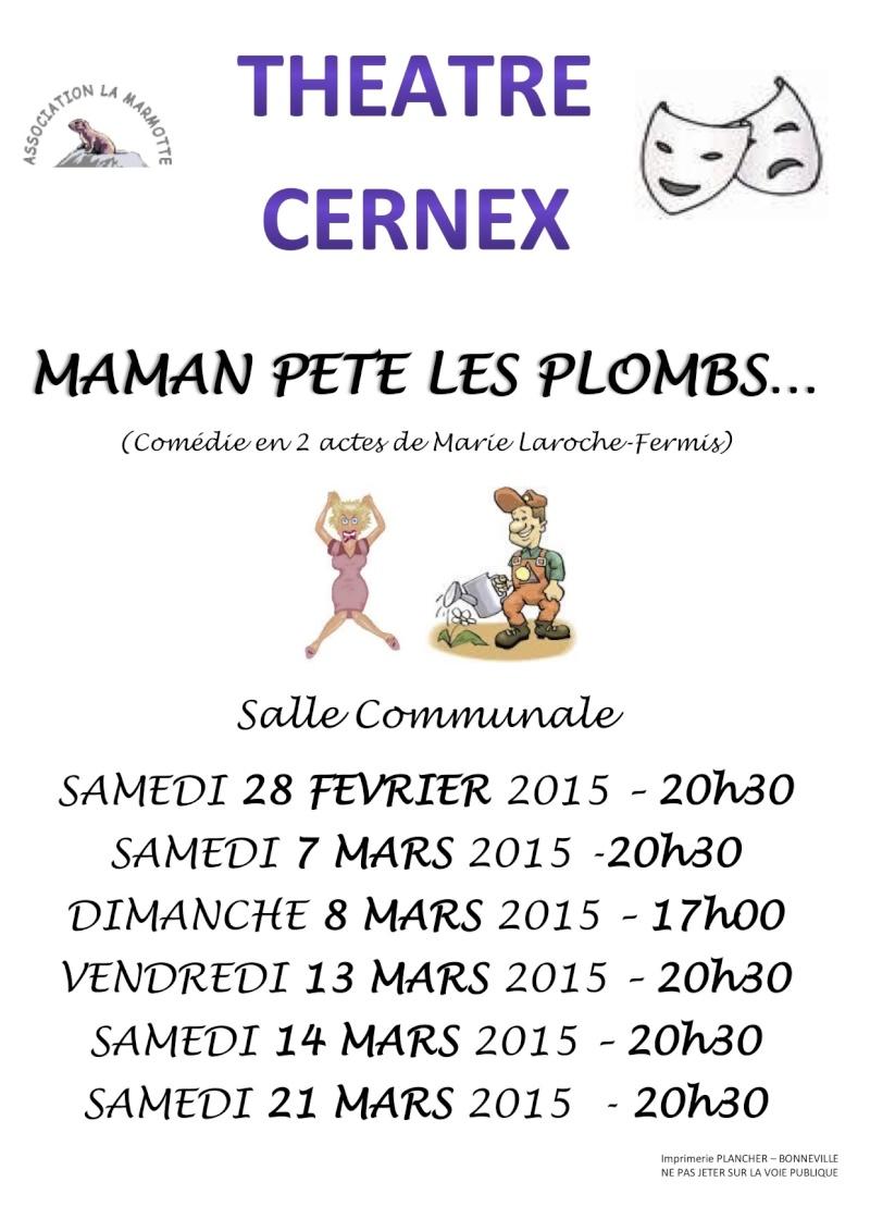 Théâtre de La marmotte CERNEX Affich11