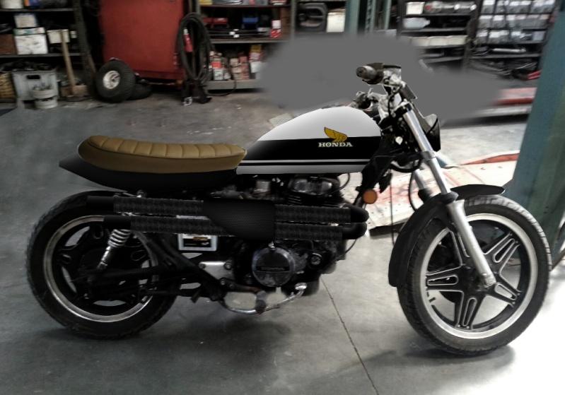 "Honda CM400TC 1983 ""From Custom to Scrambler"" 310"