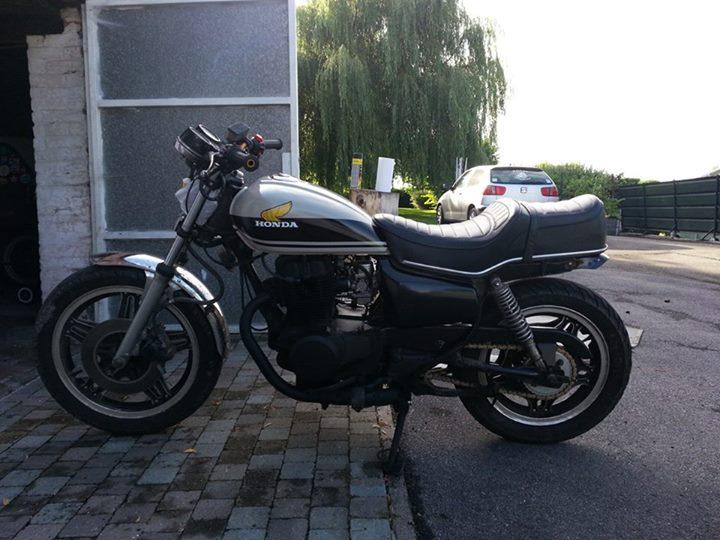 "Honda CM400TC 1983 ""From Custom to Scrambler"" 610"