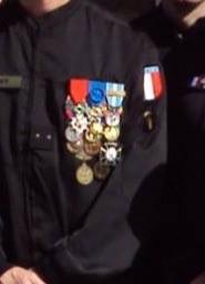 Médaille sur un gendarme Image22