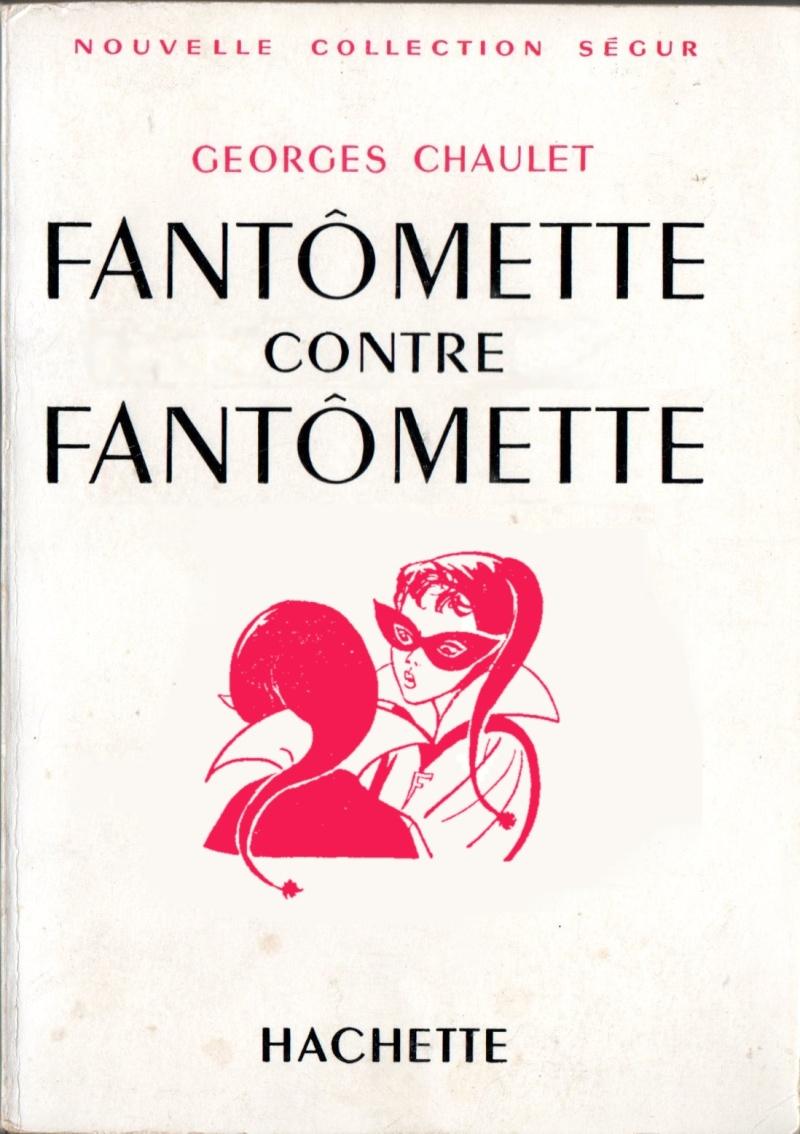 Les éditions originales de Fantomette. Faneo610
