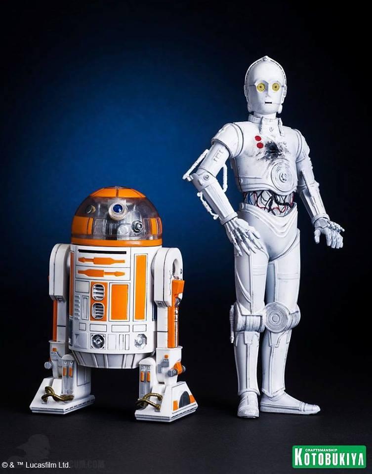 Kotobukiya R3-A2 & K-3PO ARTFX+ Statues 2015 Celebration Ex 10369510