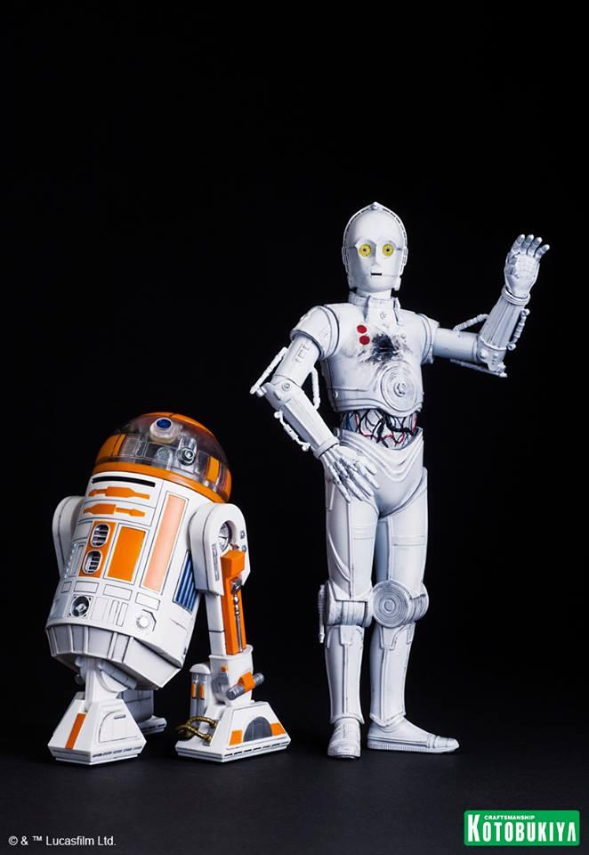Kotobukiya R3-A2 & K-3PO ARTFX+ Statues 2015 Celebration Ex 19648910
