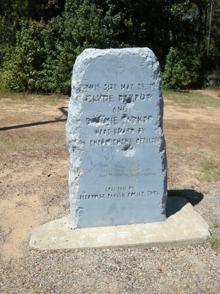 Sailes, Louisiane (Etats-Unis) : fin de cavale pour Bonnie & Clyde 10263510