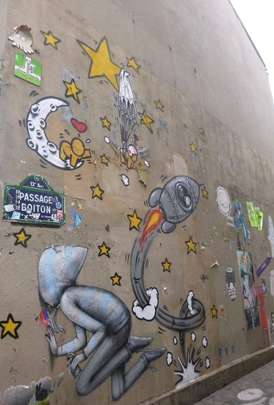 STREET VIEW : street art, grafs, tags et collages - Page 3 13pass10
