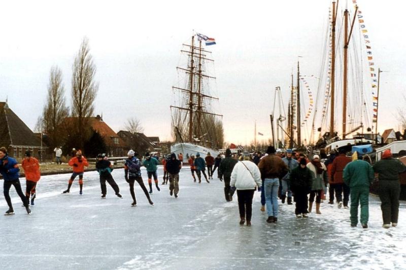 L'Elfstedentocht : une course mythique de patinage... en grand péril 17613210