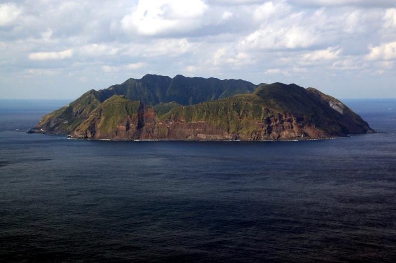 ile volcanique Aogashima, archipel izu, japon 47670710