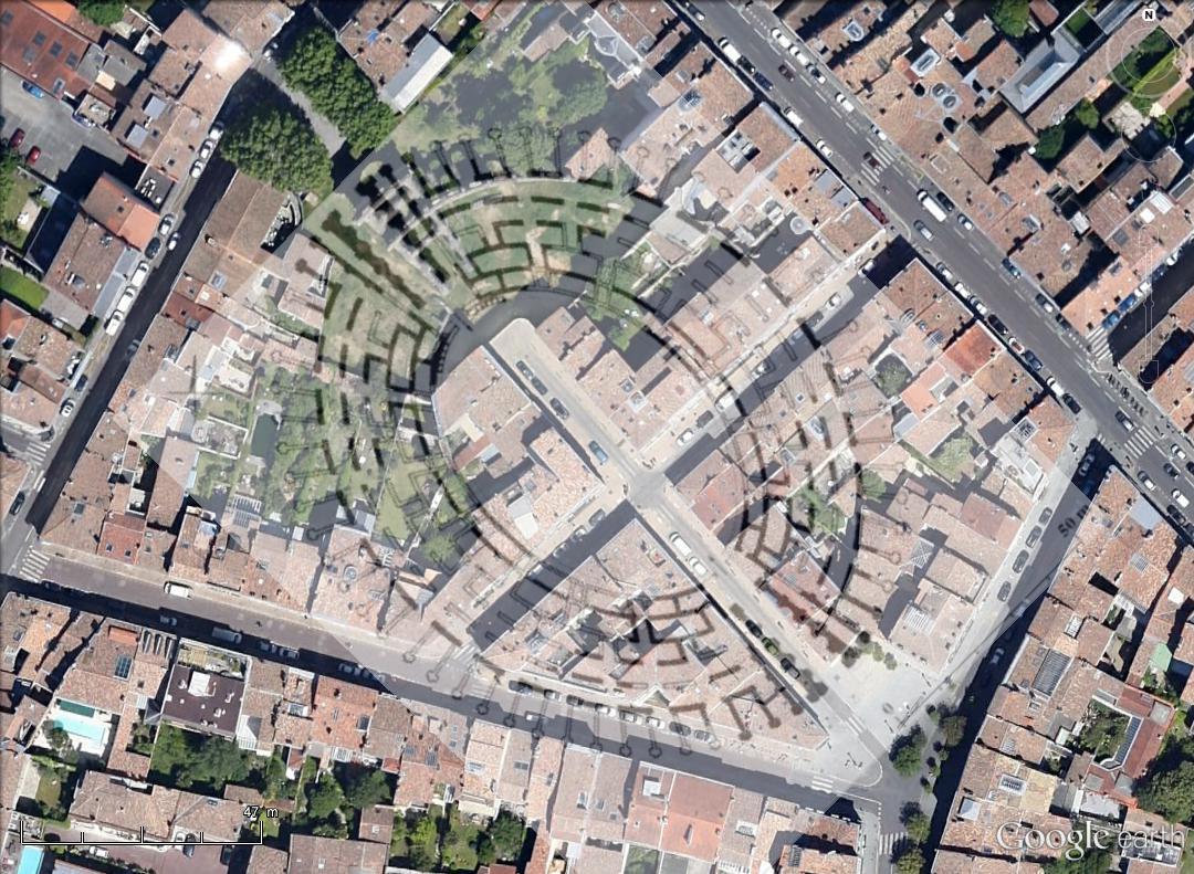 """Amphithéâtres romains : """"Panem et circenses"""" - Page 2 Bordea11"""