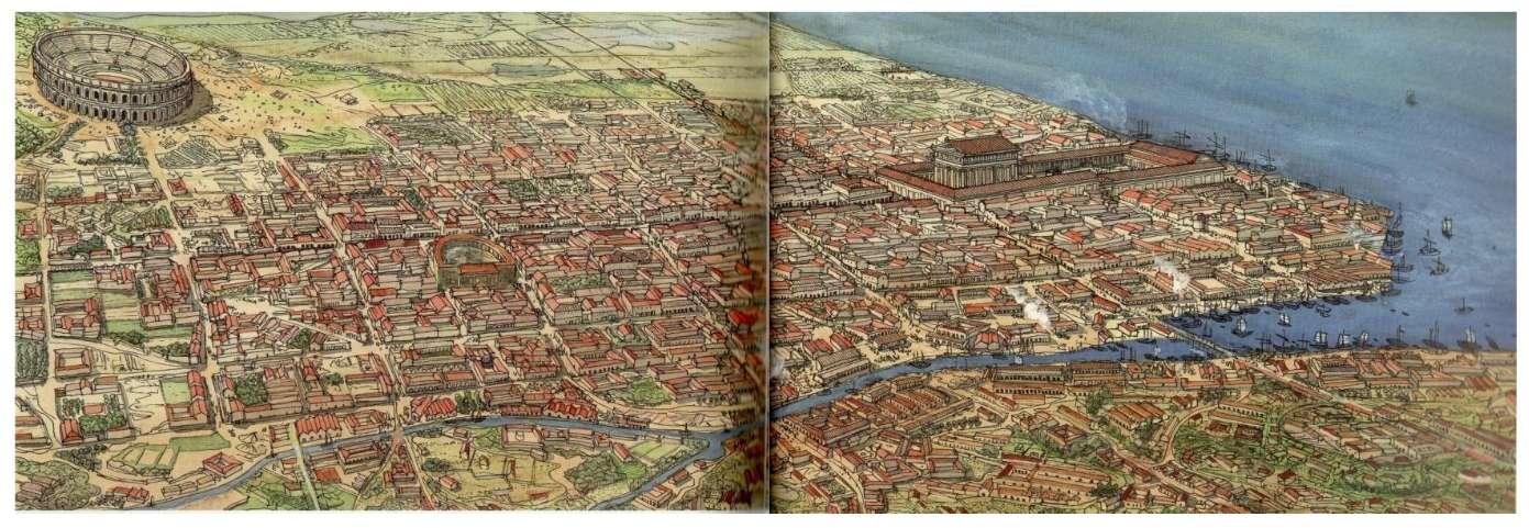 """Amphithéâtres romains : """"Panem et circenses"""" - Page 2 Bordea12"""