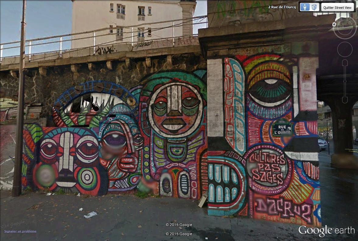 STREET VIEW : street art, grafs, tags et collages - Page 4 Cultur10