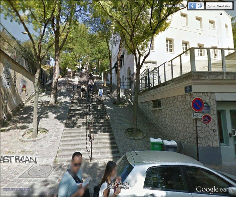 STREET VIEW : les pickpockets organisés de Montmartre Escali10