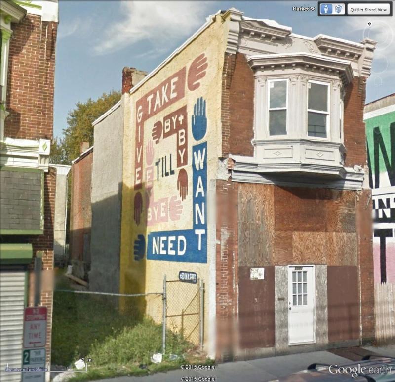 STREETVIEW : les fresques murales de Philadelphie  - Page 12 Give10