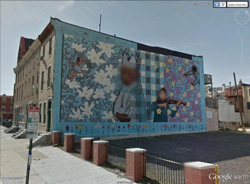 STREETVIEW : les fresques murales de Philadelphie  - Page 8 Kids10