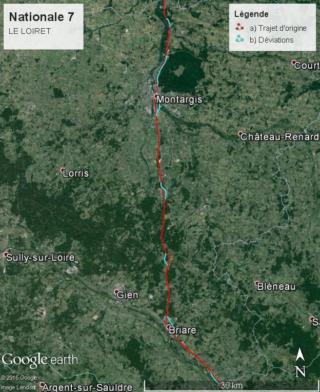 Nationale 7 : 1000 km de voyage (sujet participatif) - Page 5 Loiret13
