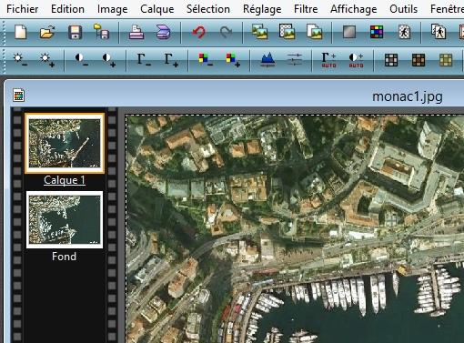 Comment superposer 2 images sur Google Earth [Pb Technique GE, résolu] Monac_10