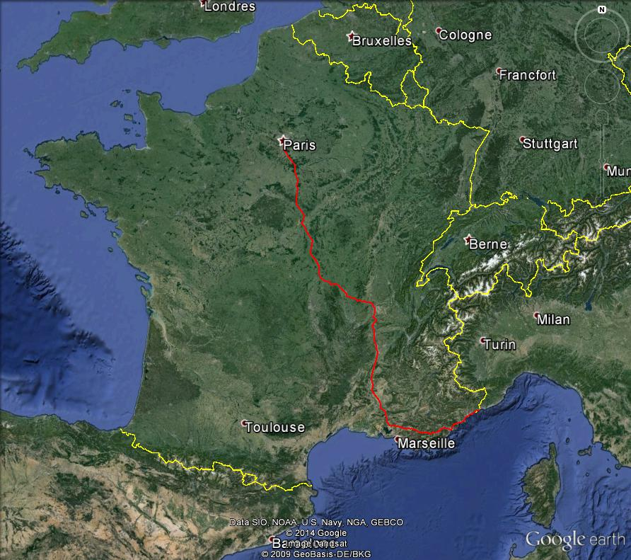 Nationale 7 : 1000 km de voyage (sujet participatif) Nation10