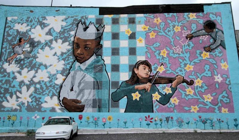STREETVIEW : les fresques murales de Philadelphie  - Page 8 Philly10