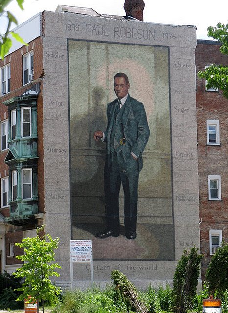 STREETVIEW : les fresques murales de Philadelphie  - Page 8 Robeso11