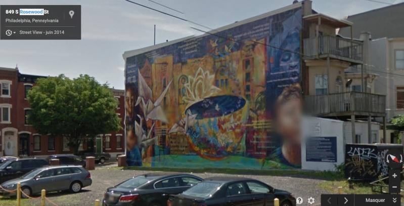 STREETVIEW : les fresques murales de Philadelphie  - Page 8 Rosewo10
