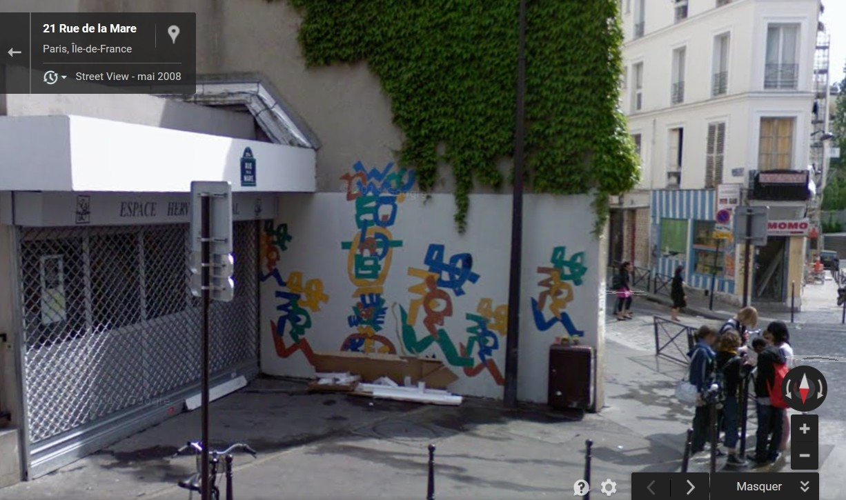 STREET VIEW : street art, grafs, tags et collages - Page 4 Rue_de10