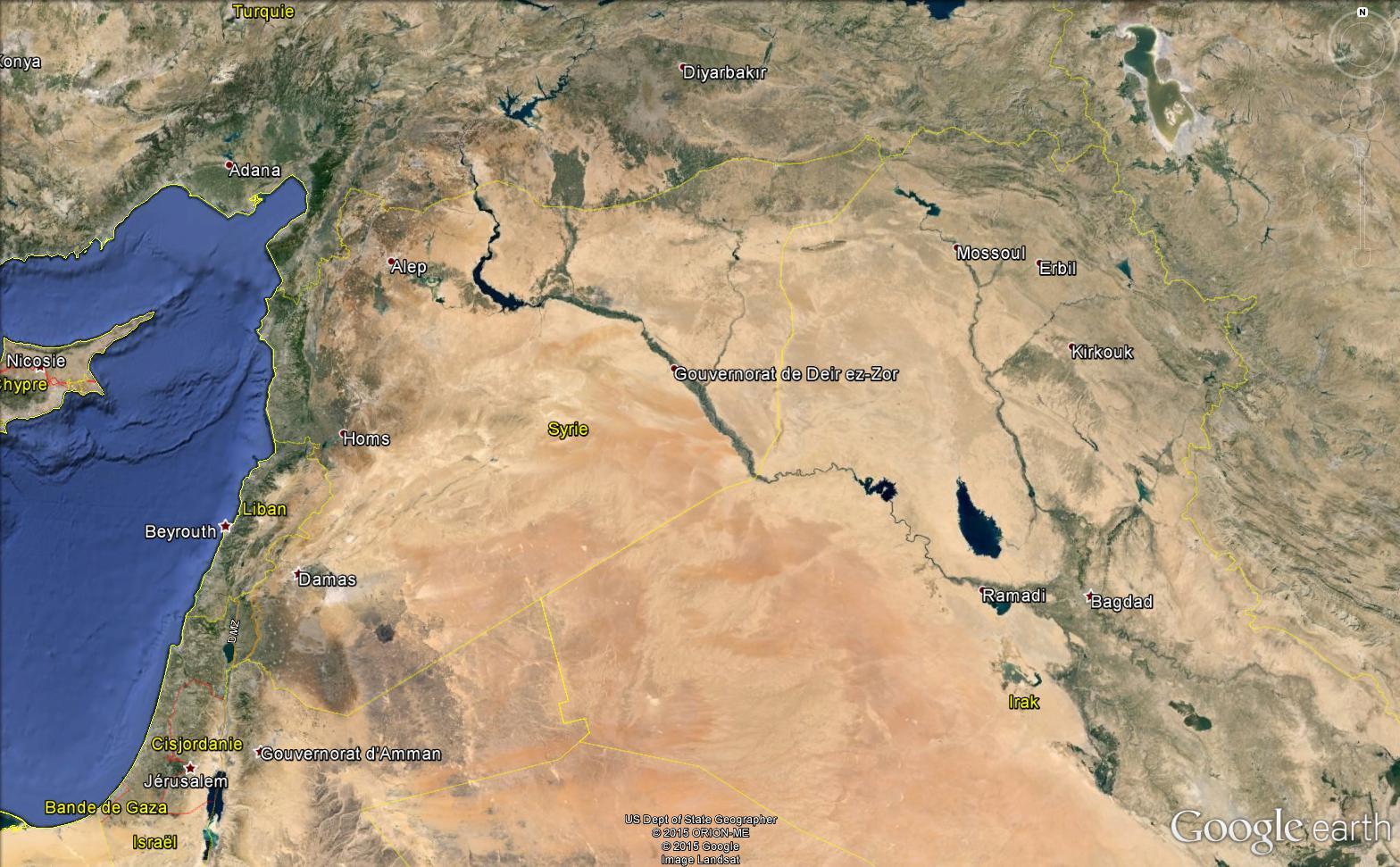 SYRIE : après 4 ans de guerre, un pays plongé dans l'obscurité Syrie_10