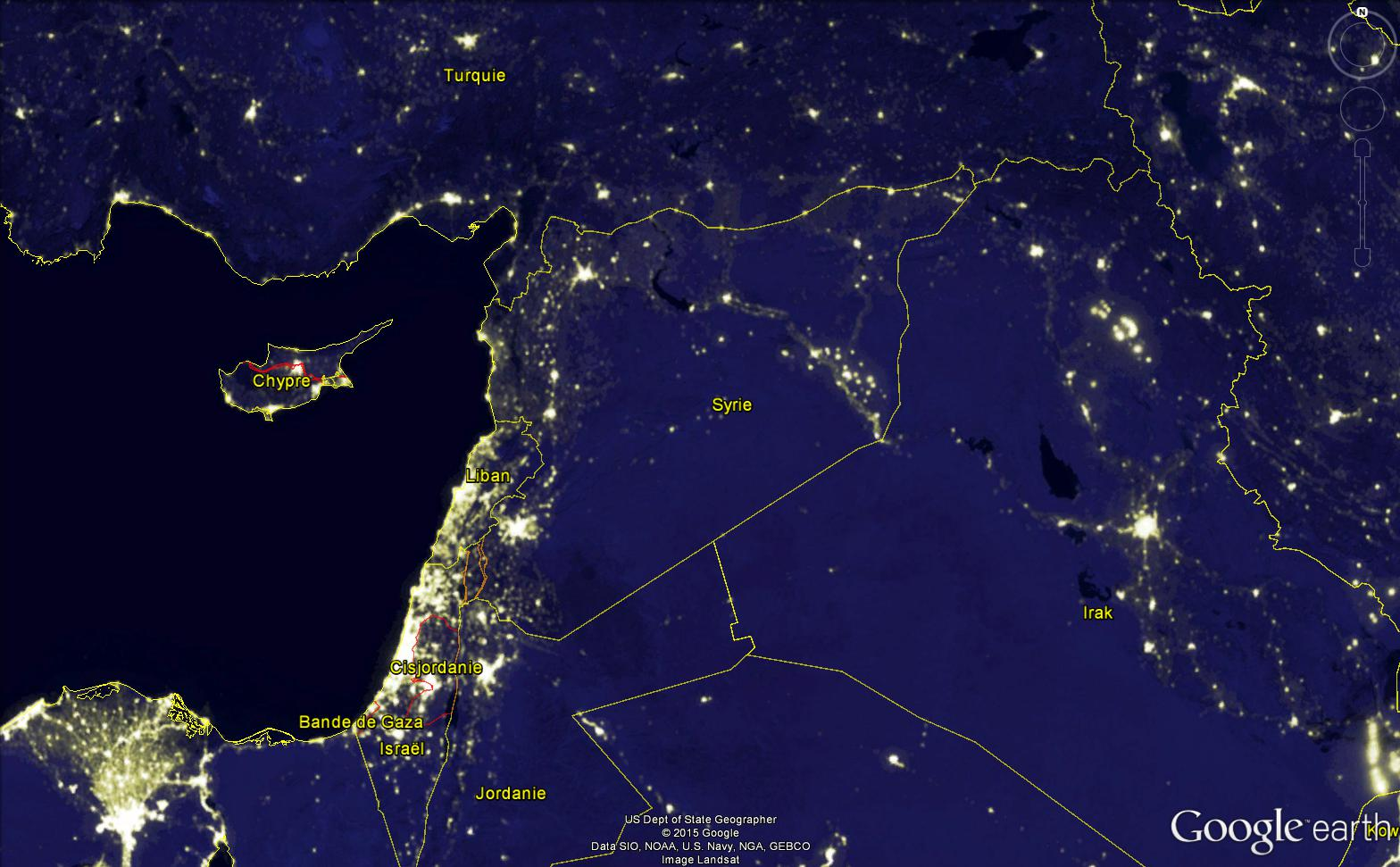 SYRIE : après 4 ans de guerre, un pays plongé dans l'obscurité Syrie_11
