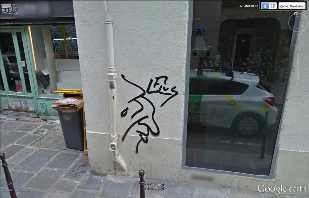 STREET VIEW : street art, grafs, tags et collages - Page 4 Visagz10