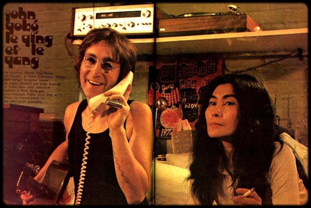 John Lennon & Yoko Ono : Sometime In New York City (1972) Joyo10
