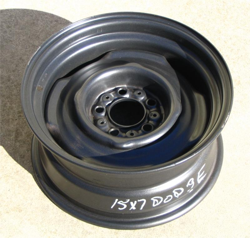 3 roue Mopar 15 X 6 1/2 5 nut 4 1/2 gros  Powder10