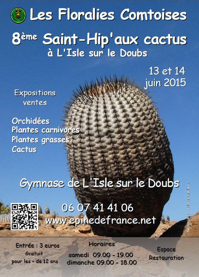 Les Floralies Comtoises ... Saint-Hip'aux cactus 2015 Flyer_10