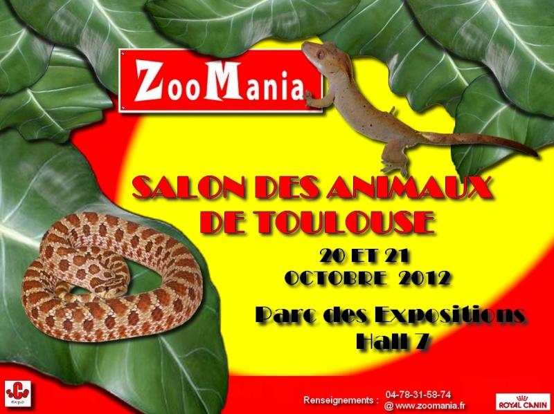 Salons des animaux reptiles et nacs de toulouse 20 10 ev nement nimo - Salon des animaux toulouse ...