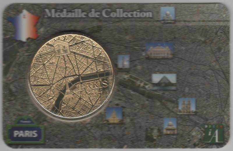 Carte-Médaille Paris (KNM) 00510